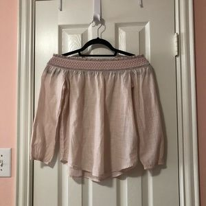 Abercrombie & Fitch Off the Shoulder Blouse